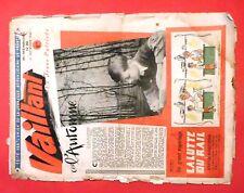 VAILLANT n°39 du 21 septembre 1945 - Moyen état, bord usé