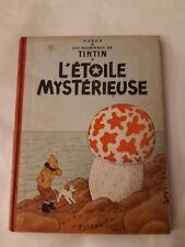 Album de TINTIN l'étoile mysterieuse  B29 1960/61 bon état