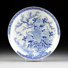 A Massive Antique Japanese Arita Porcelain Plate by Kajiwara Kiln