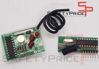 Módulo RF Emisor y Receptor 433 Mhz 2 Km Codificador y Decodificador PT2272-62