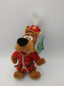 "Scooby Doo Nutcracker Bean Bag Plush NWT 1998 Warner Brothers Studio 9"""
