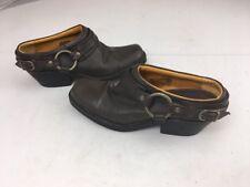 LOWER EAST SIDE Womens Brown Mules Shoe Sz 8 Western Boots Botties
