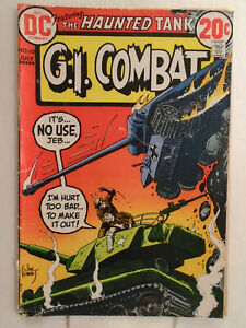 DC Comics G.I. COMBAT #162 (1973) Joe Kubert Cover