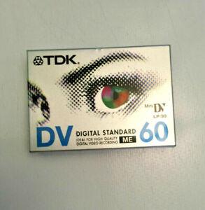 TDK Mini DV Digital Video Cassette pack of 5