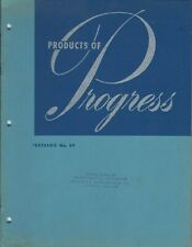 MRO Catalog - Progress - Electrical Lighting Fixtures - 1949 Brochure (MR275)