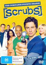 Scrubs: The Complete Season 4 * NEW DVD * (Region 4 Australia)