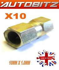BRAKE PIPE UNION IN LINE DOUBLE CONNECTOR METRIC FEMALE X10 UK FAST DISPATCH