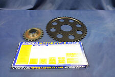 TRIUMPH T140 / TR7 CHAIN AND SPROCKET KIT DISC REAR WHEEL MODELS 45 / 20 TEETH