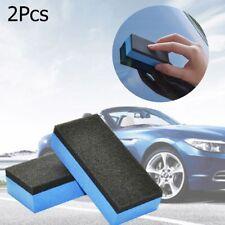 2X Car Wash Schaum Keramik Beschichtung Schwämme Glas Nano Wachs Applikator Pad