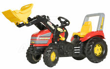 Rolly Toys X-TRAC ROUGE KING-SIZE Ride-on Tracteur À Pédales & TRAC Chargeur
