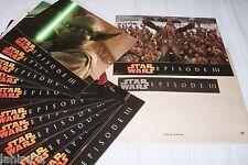 STAR WARS la guerre des etoiles ep.3 ! g lucas jeu 12 photos cinema lobby card