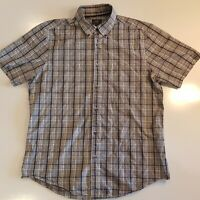 Sportscraft Men's Size M Short Sleeve Shirt Button Down Collar - SD23