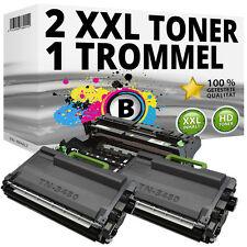 2x Toner + Tambour compatible Brother hl-l5000d l5100dn l5200dw l6250dn l6300-dw