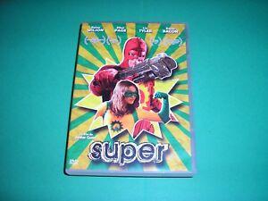 "DVD,""SUPER HEROS"",rainn wilson,liv tyler,kevin bacon,ellen page,(75)"