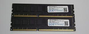 16gb kit 2 x 8gb PC3-12800 non-ECC PC RAM - Dell Vostro 470 3650 3653 3800 3900