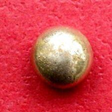 Gold Bar nugget ingot button 3.00 Grams solid gold