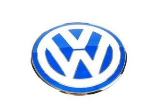 New Genuine Volkswagen Beetle 1999-2005 Front Bonnet Badge Blue 1C085361739A