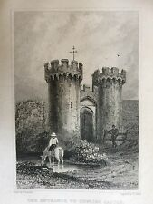 1829 Print ; Cooling Castle Entrance, Kent