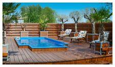 *PORT* Swimming Pool Garden Pool Fiberglass Pool Polyester PISCINA BECKEN