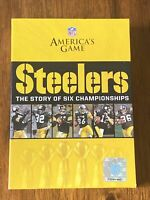 NFL Americas Game Pittsburgh Steelers The Story of Six Championships (DVD, 2009)