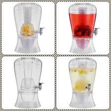 8l GRANDE Vino Succo Bibite Dispenser Brocca & Cocktail di frutta Punch infus. con rubinetto