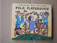 FOLK PLAYGROUND PUTUMAYO WORLD ETHNIC MUSIC CD VGC