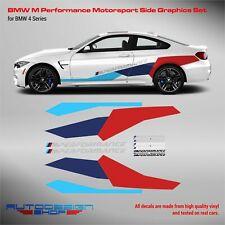 M Performance Motorsport Side Stripes decals Set for BMW M4 / M5