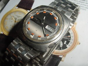 Vintage 1970s SEIKO DX Rally 6106-7539 AUTOMATIC mens watch