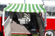 VINTAGE VERDE A RIGHE Sole Tettuccio & Morsetto Cinturino In Gomma VW divide Portellone di carico C9503G