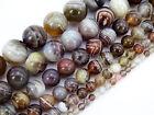 Natural Botswana Agate Gemstone Round Beads 15.5'' 4mm 6mm 8mm 10mm 12mm 14mm