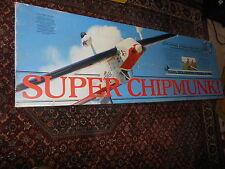 RC MODEL Carl Goldberg SUPER CHIPMUNK MODEL large AIRPLANE Plane unassembled