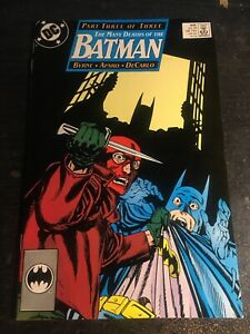 Batman#435 Incredible Condition 9.2(1989) Byrne Cover and Story!