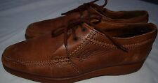 Pakerson Hand Made Italian Mens Shoes Tan Brown Size 6