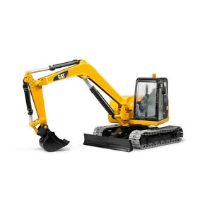 Bruder 1:16 39cm CAT Mini Excavator Construction Vehicle Kids/Children Toys 3y+