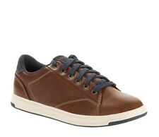 George Mens Brown Lace up Casual Sneakers Size 8 NEW