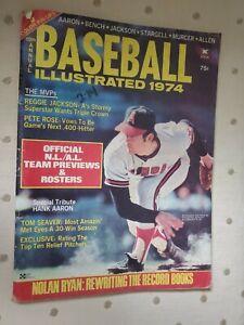 BASEBALL ILLUSTRATED Magazine 1974 Edition NOLAN RYAN Tom Seaver Pete Rose Aaron