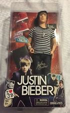 Justin Bieber Doll JB Style Collection with Red Hot Sneakers & Shoe Box! - NEW