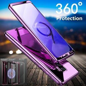 Antichoc Hybride 360 Ultra Fin Rigide Mirror Étui Pour Samsung Galaxy Téléphone