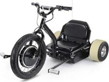 MotoTec Drifter 48v Electric Trike Max Rider Weight 240# Front Wheel Power 22MPH