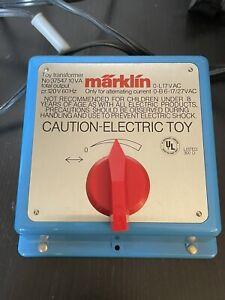 Marklin HO 37547 AC Transformer Made In Western Germany