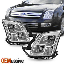 Fits 2006-2009 Ford Fusion Headlights Replacement Factory Style Lights Lamps set