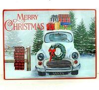 "Limited Edition NEW Norman Rockwell Santa Glass Cutting Board 8/"" x 10/"""