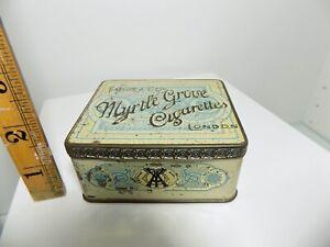 Taddy & Co Myrtle Grove 50 Cigarette Tin c1900s Empty