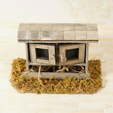 1:12 Doll House DIY Chicken House Miniature Scene Simulated Kids Toy
