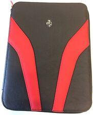 Ferrari Factory Envelope/Tablet Carrier Black/Red 70004636 Algar Ferrari On Sale