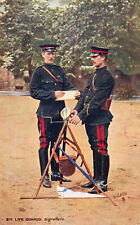R161589 2nd Life Guards Signallers. Tuck. Oilette