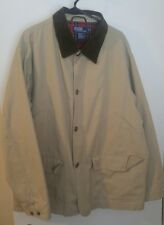 POLO by RALPH LAUREN Hunting Cargo Field Barn Chore JACKET XL Fully Lined