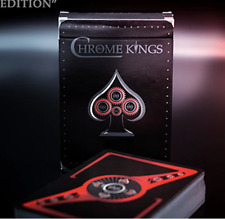 Chrome Kings Limited Edition Playing Cards (Players Red Edition) by De'vo vom S.