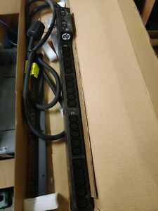 USED HP H5M58A 4.9 KVA 208V PDU POWER DISTRIBUTION UNIT FOR PROLIANT DL380E G