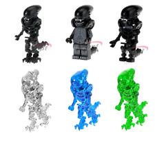 New MINIFIGURES lego MOC Super Heroes One-Eyed Alien Halloween Upgraded Version